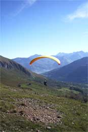 stage parapente pyrenees